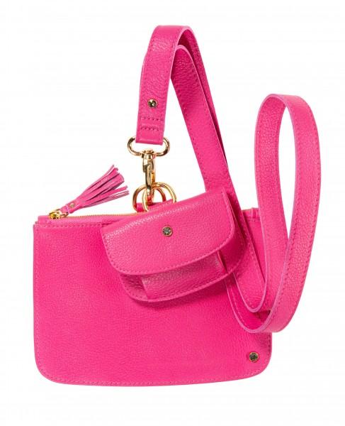 Pinkfarbenes Schlüsselband Set mir Geldtäschchen und Clutch |LABEKA Kollektion Pretty Pink